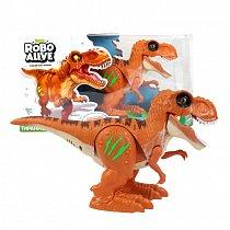 Игрушка Робо-Тираннозавр RoboAlive оранжевый Т13694